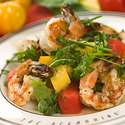 Mexican White Shrimp and Watermelon Salad