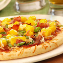 Mango and Bacon Barbecue Pizza