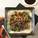 Hoisin Orange Pork Asian Vegetable
