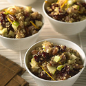 Quinoa and Browned Onion Salad with Apples