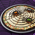OREO Spider Web Cookie Pizza